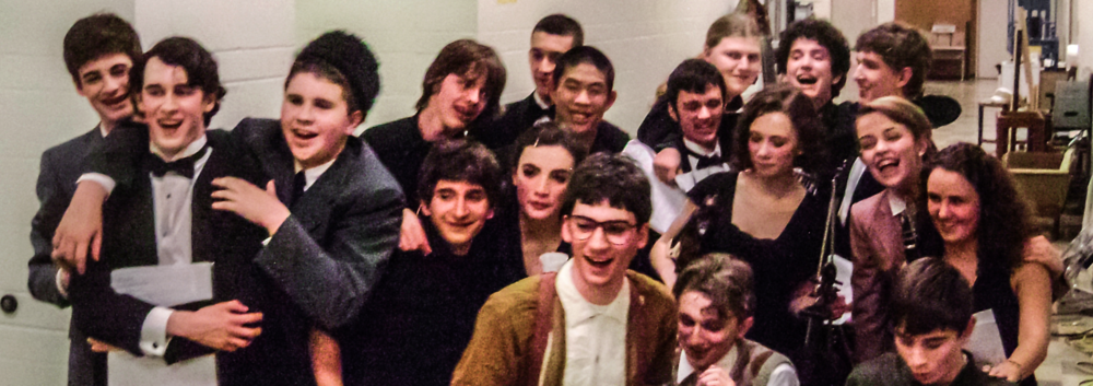 Cast and orchestra, opening night. Feb. 2010