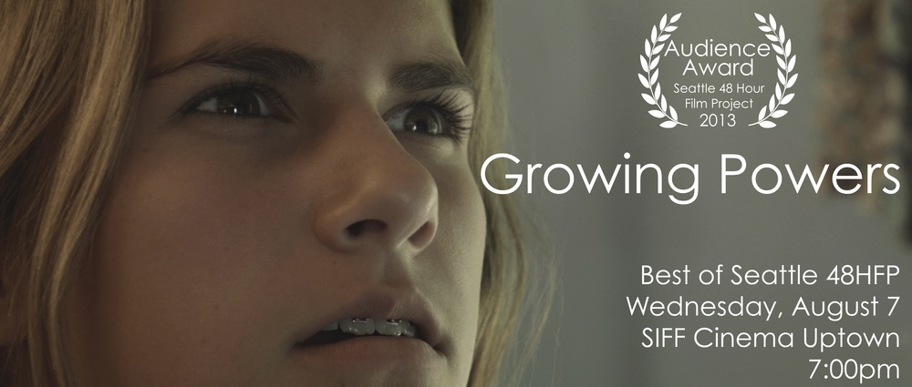 Poster from Growing Powers. Actress Olivia Mora.
