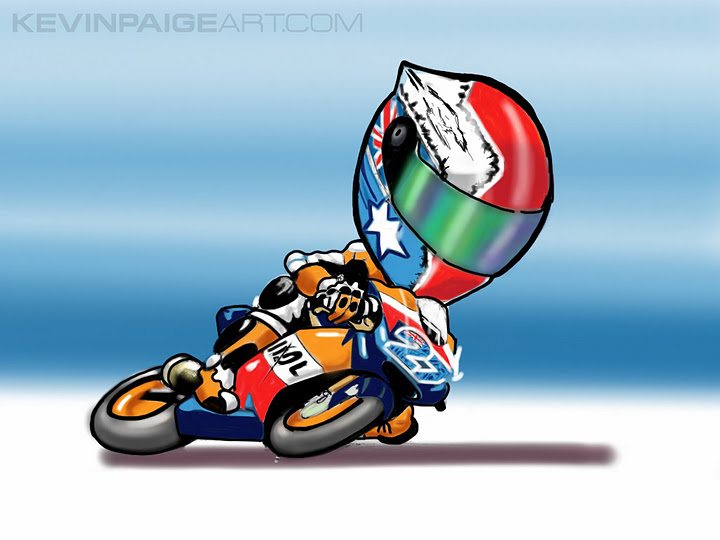 Casey Stoner Cartoon