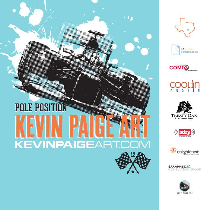 Pole Position 2012 - Photobooth backdrop