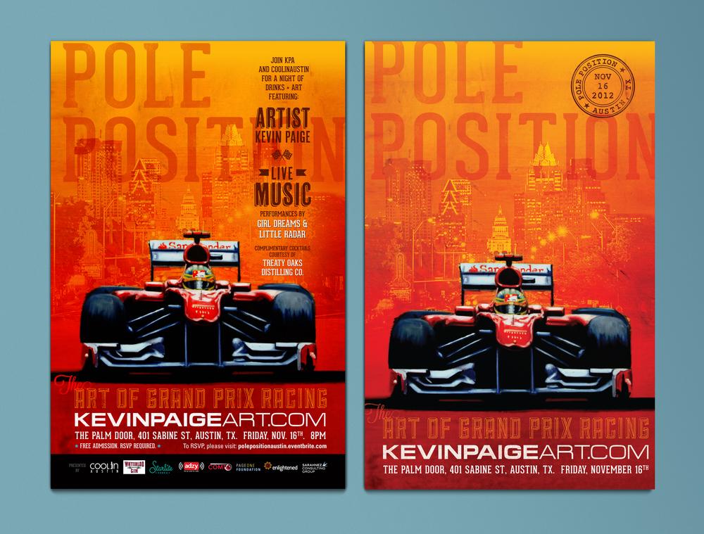 Pole Position 2012 - Poster & Art Print