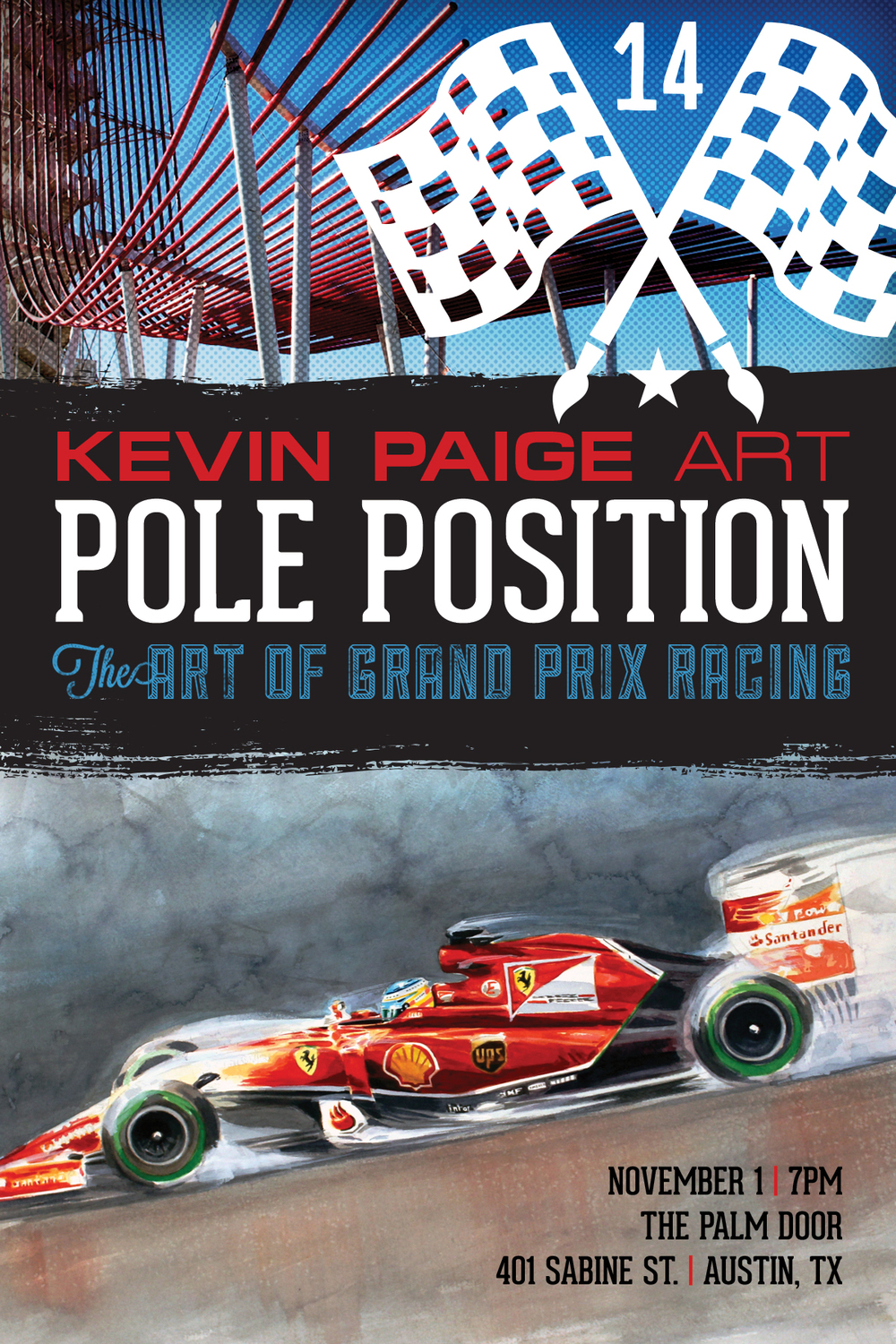 The hottest party of the US GP weekend in Austin, TX. Thanks for making Pole Position one of the best F1 parties in town - two years in a row! We can't wait to see y'all for Pole Position 2014!