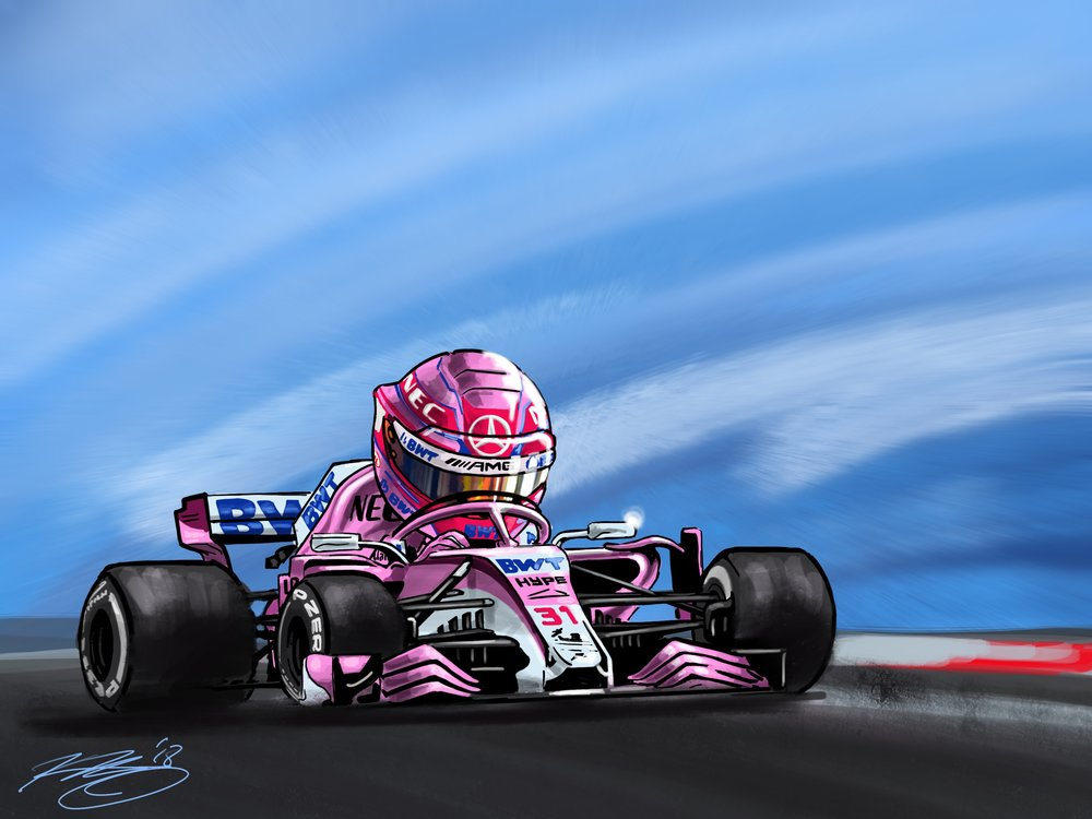 Ocon Cartoon