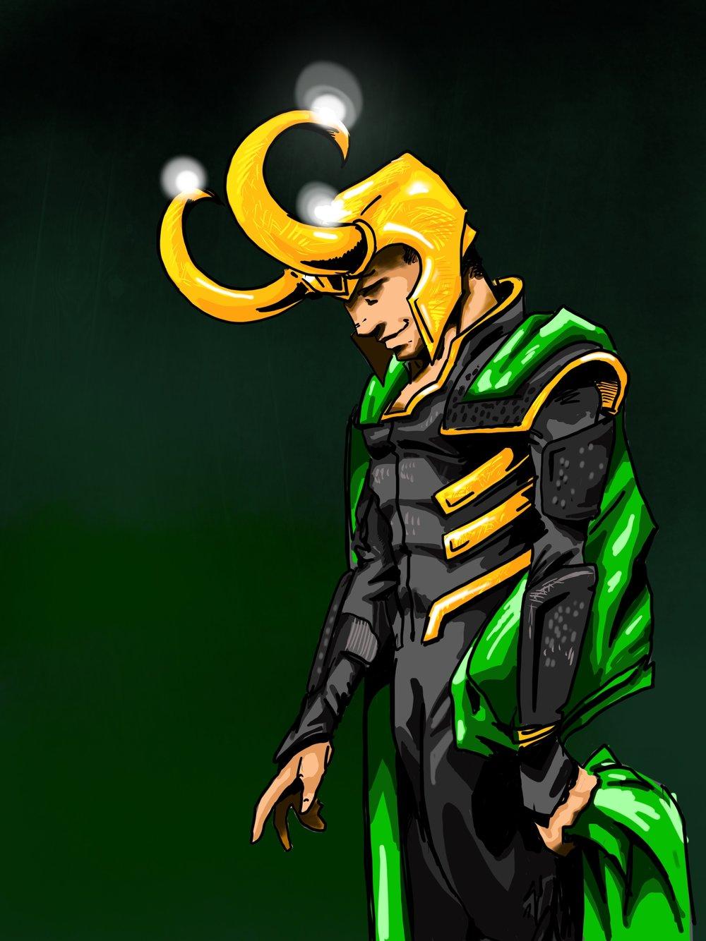 Loki Drawing