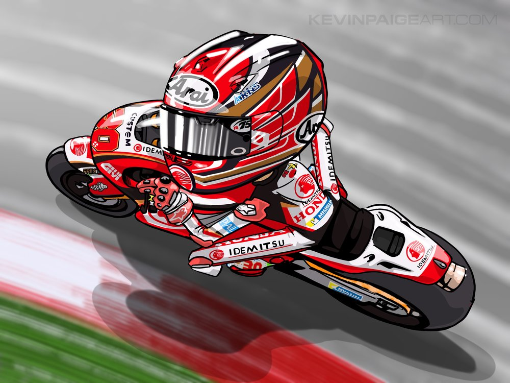 Taka Nakagami Cartoon