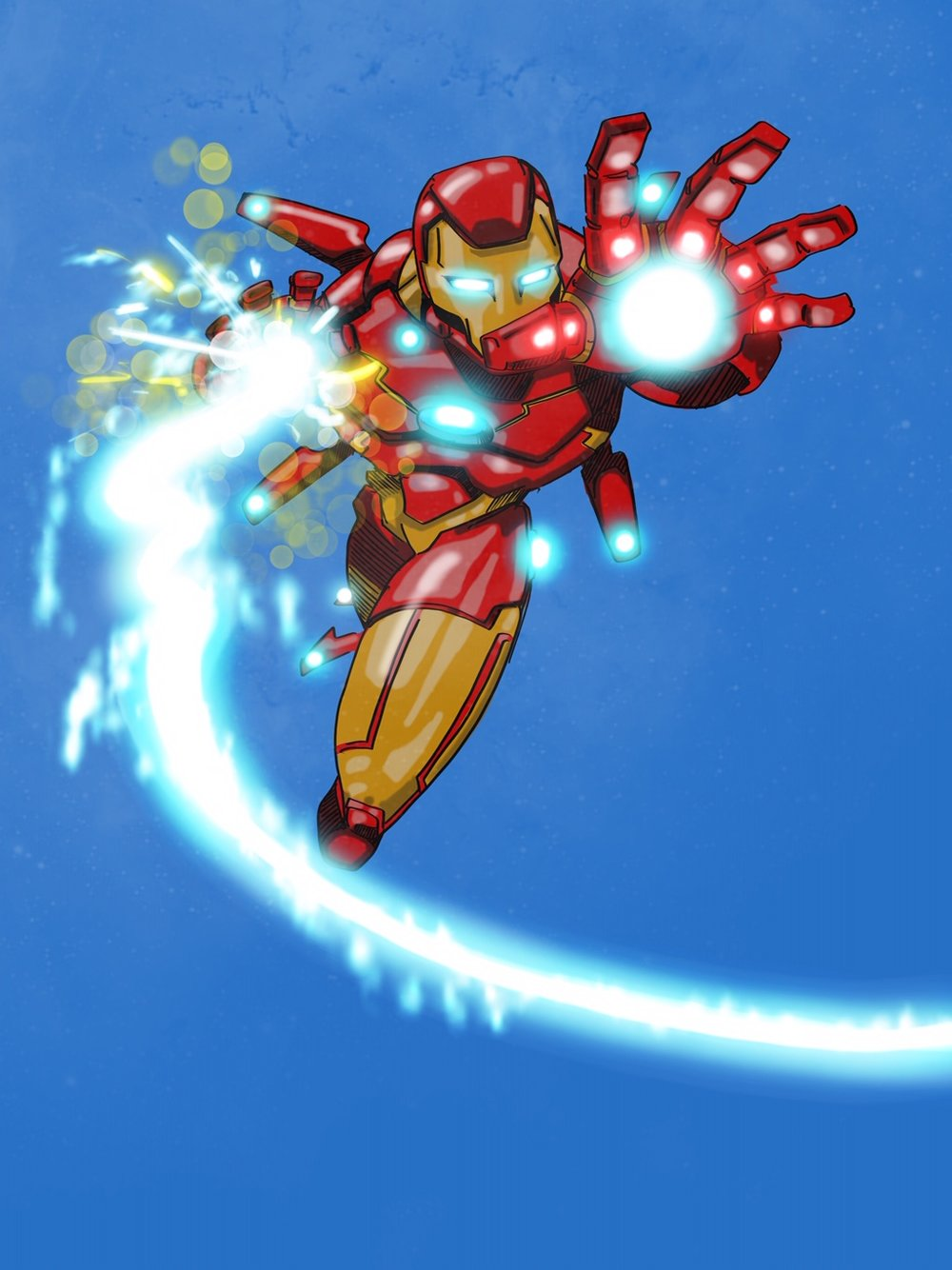 Iron Man Digital Sketch