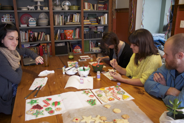 Then get some friends together to create masterpieces and share in the joy of the season!