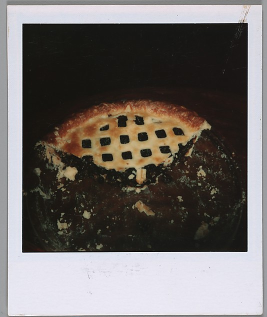 [Half-Eaten Blueberry Pie] © Walker Evans Archive, The Metropolitan Museum of Art (You've heard about  this , right?)