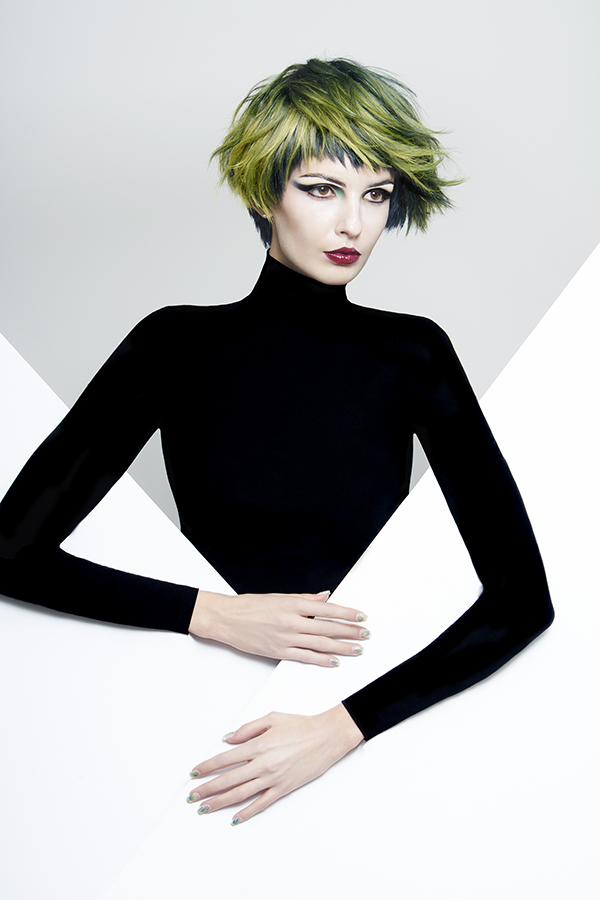 Color - Lupe Voss Cut/Style - Peter Gray Make-Up - Marla Belt Photo - Anthony Friend