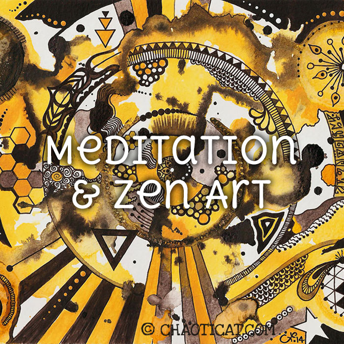 Meditation & Zen Art