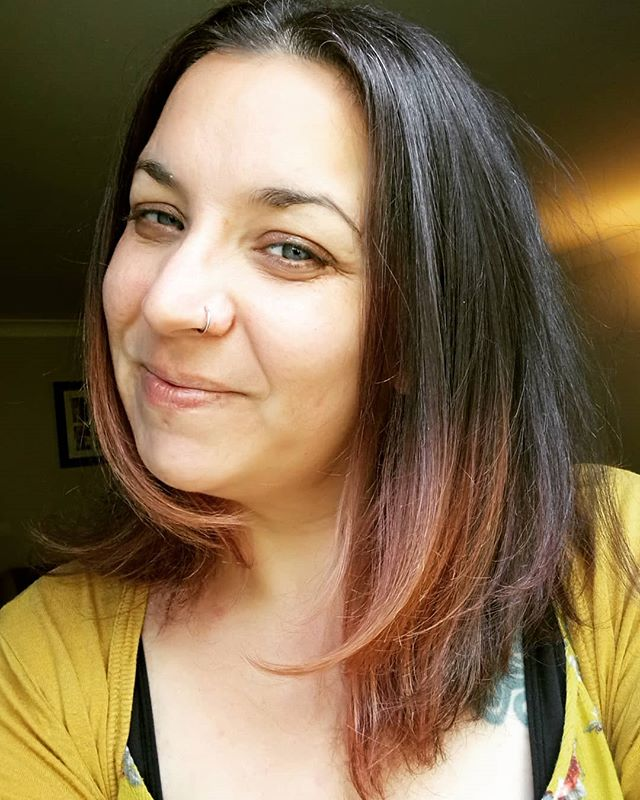 New do! Saved a good amount of hair. I didn't need to shave it!  #dreadsnomore #dread #removal #newhair #letitgrow #hair #cut #muditahair