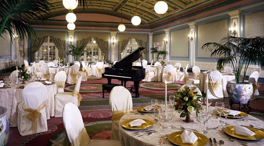 The Crystal Ballroom of the Fairmont Empress Hotel.