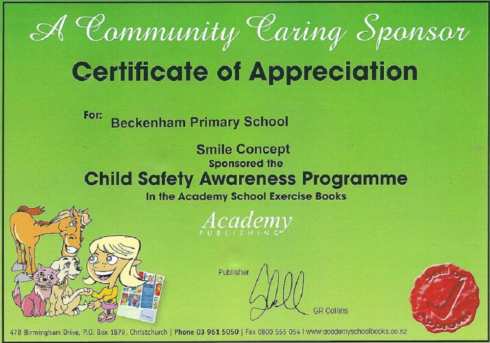 Certificate beckenham school.jpeg
