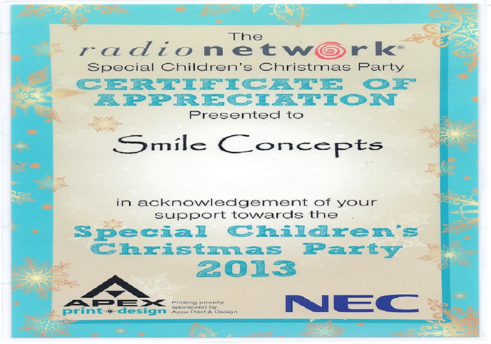 Certificate childrens xmas party.jpeg