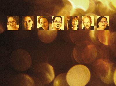 Donna Abela Vanessa Bates Hilary Bell Verity Laughton                Ned Manning Noelle Janaczewska Catherine Zimdahl