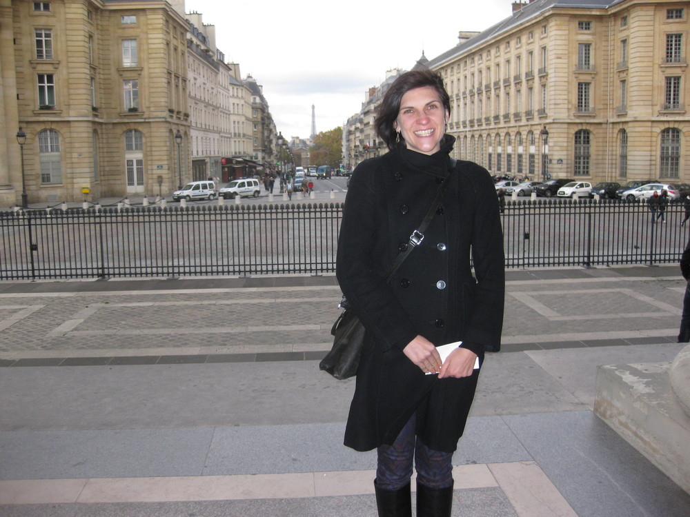 an American in Paris!