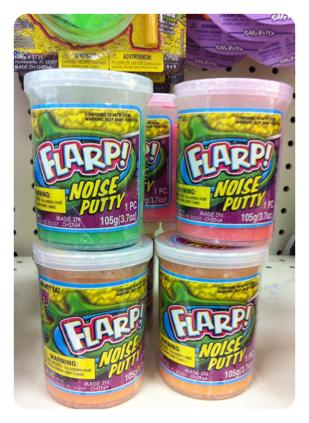 What kid (or adult male) wouldn't love a can of Flarp?