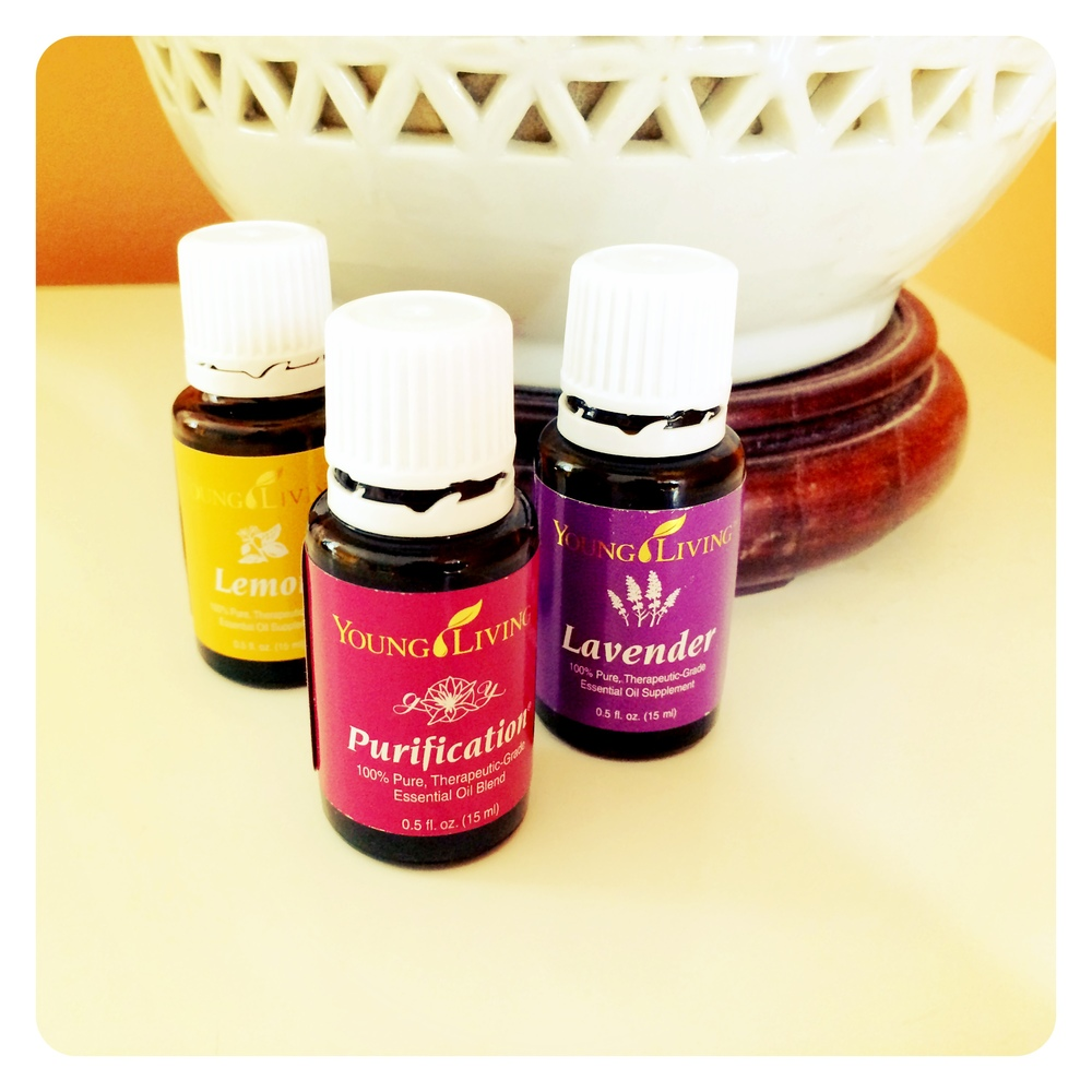 My first Young Living oils.