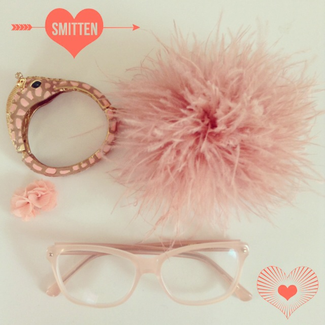 Blush spectacles from Rowley Eyewear