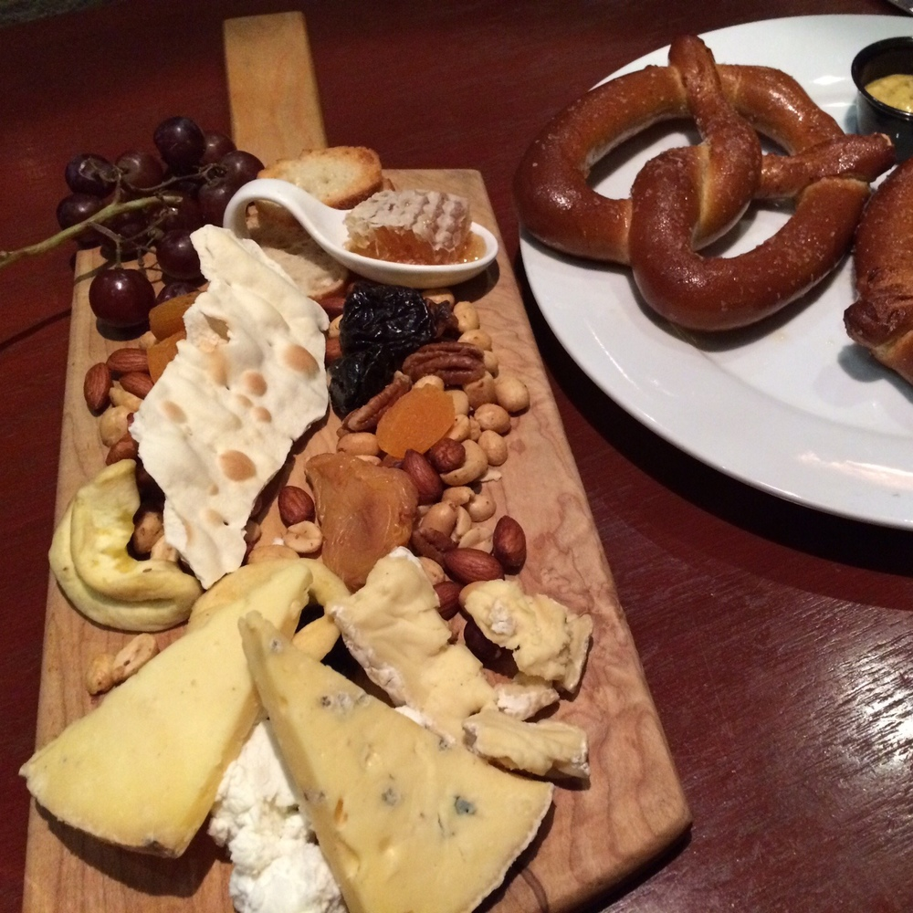 Just one of the cheese boards we ordered. This one was from Churchill's Pub. They're a fixture on many Savannah menus. HOLLA!
