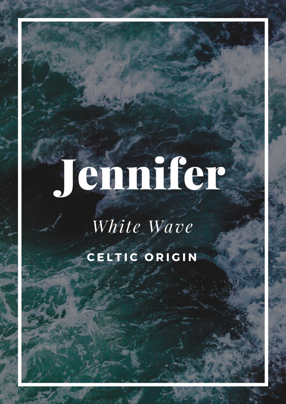 jennifer white wave