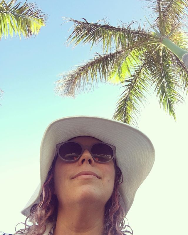 Day 1: Salty hair. Sandy feet. Palm tree selfies. 🌴 Not going to lie, the next few days aren't going to change much. #OneBigHoliday