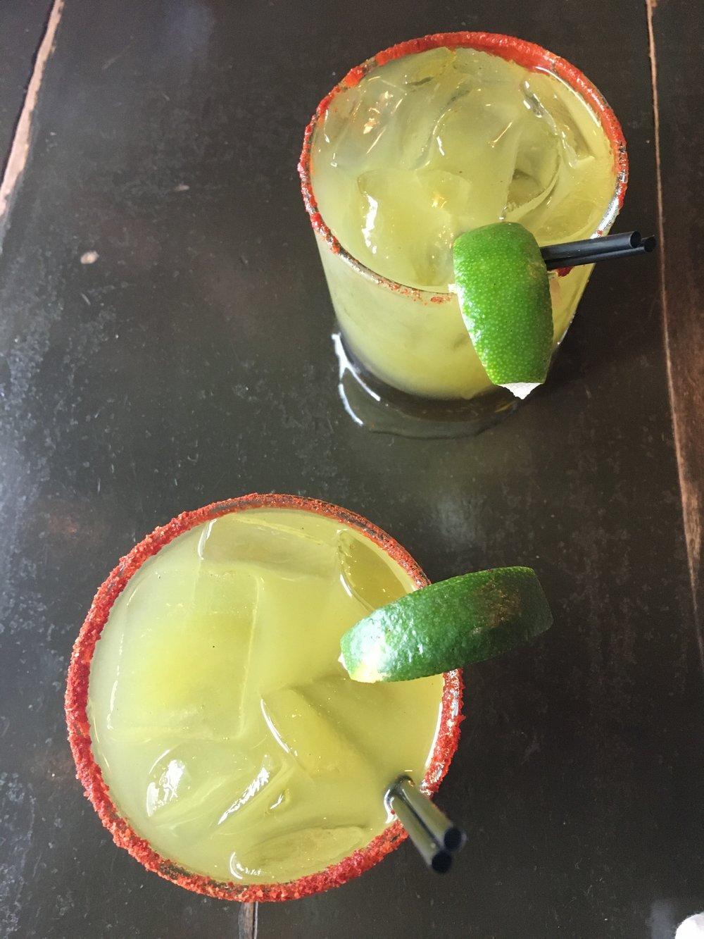 Jalapeño margaritas so delicious, they deserve their own full sized photo.