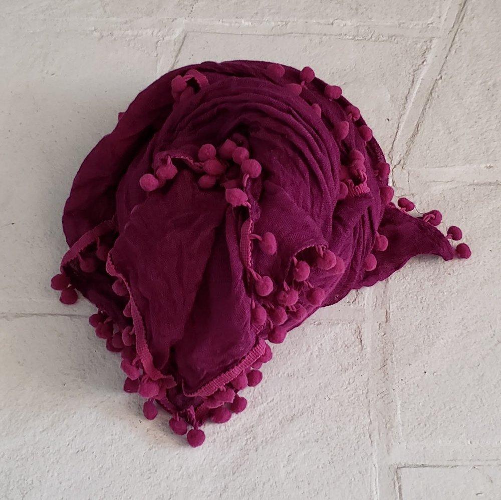 pom scarf/wrap $5