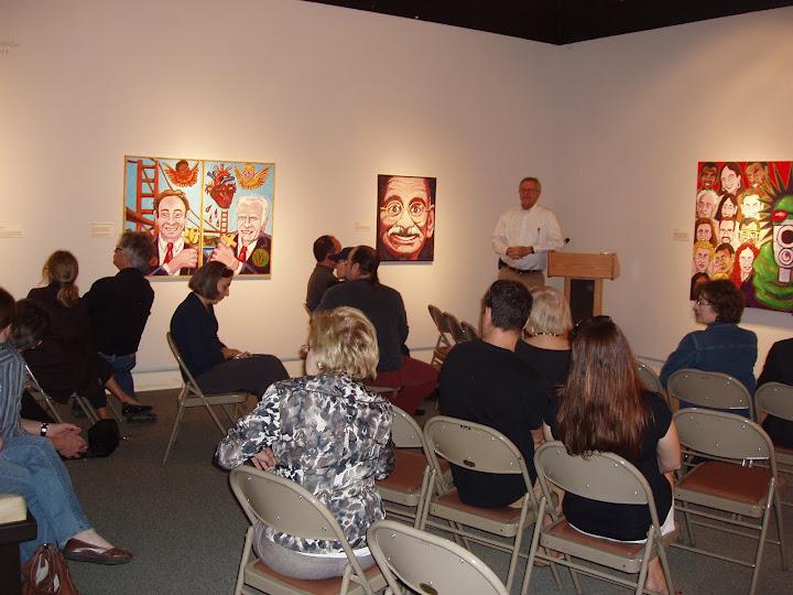 Artist's Talk - Friends of the Algur Meadows Museum of Art at Centenary College in Shreveport, LA