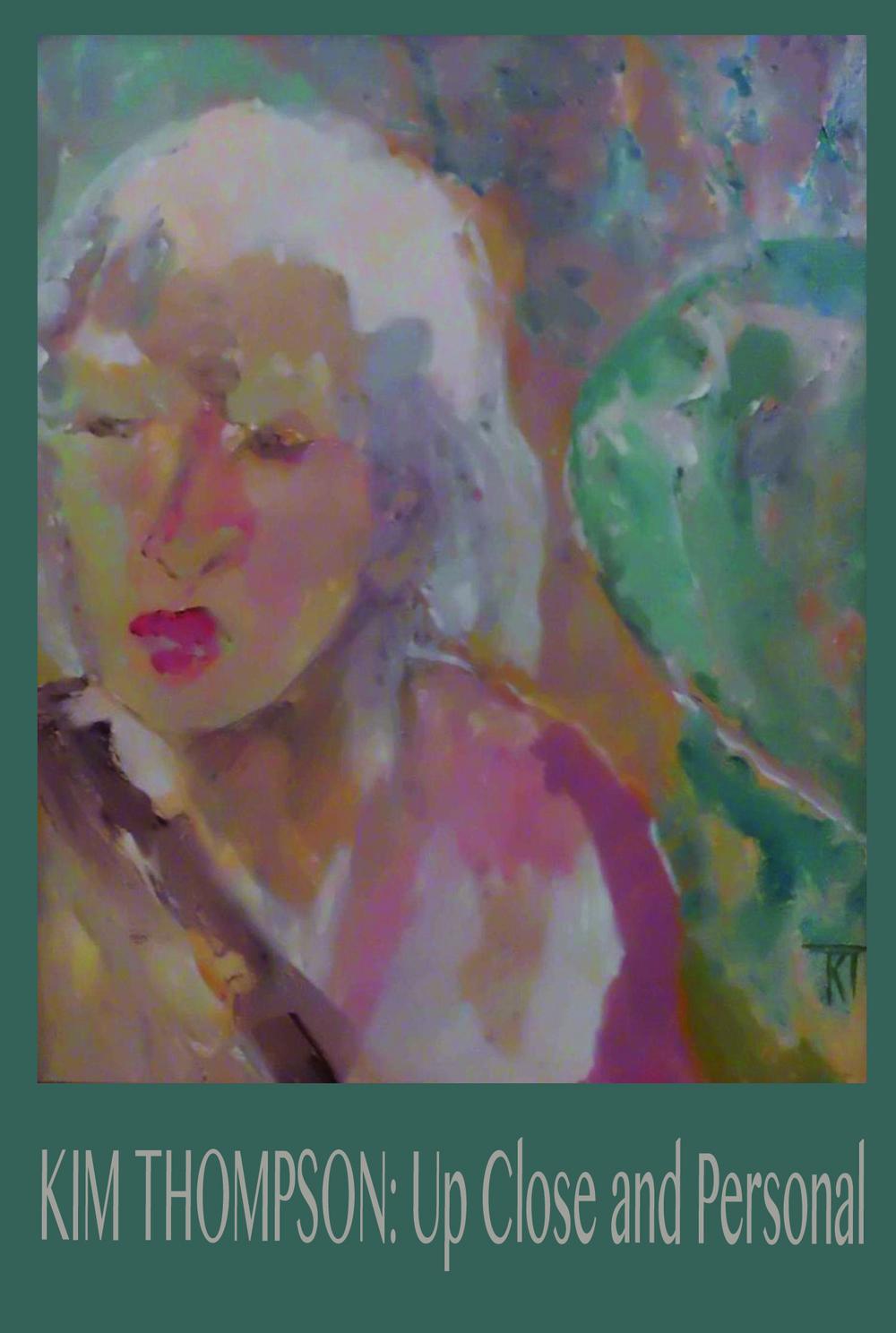 """Bernice"" by Kim Thompson, 2013. 16"" x 20"", acrylic."