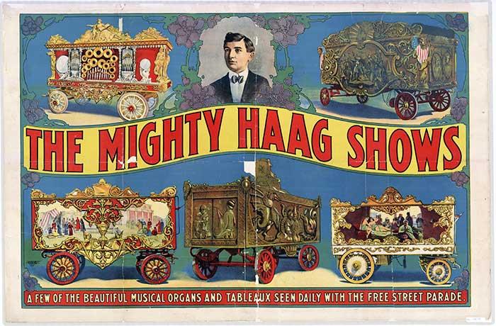 "The Mighty Haag Parade - ""Cirque de Shreve"" Benefit November 1"