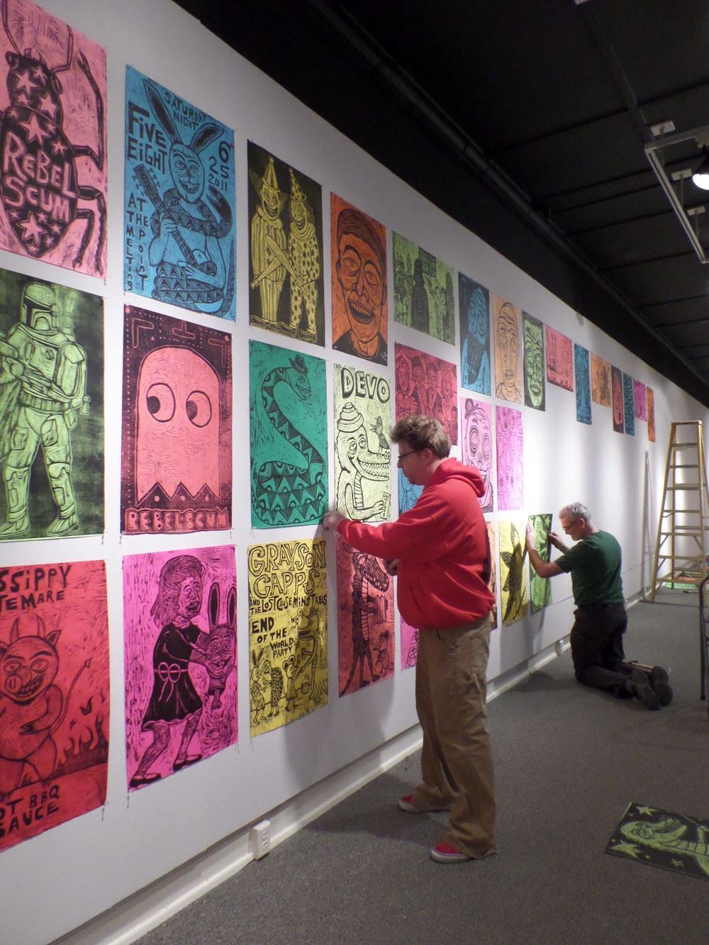 Sean Starwars - January 2014 - Friends of the Algur Meadows Museum of Art at Centenary College in Shreveport, LA