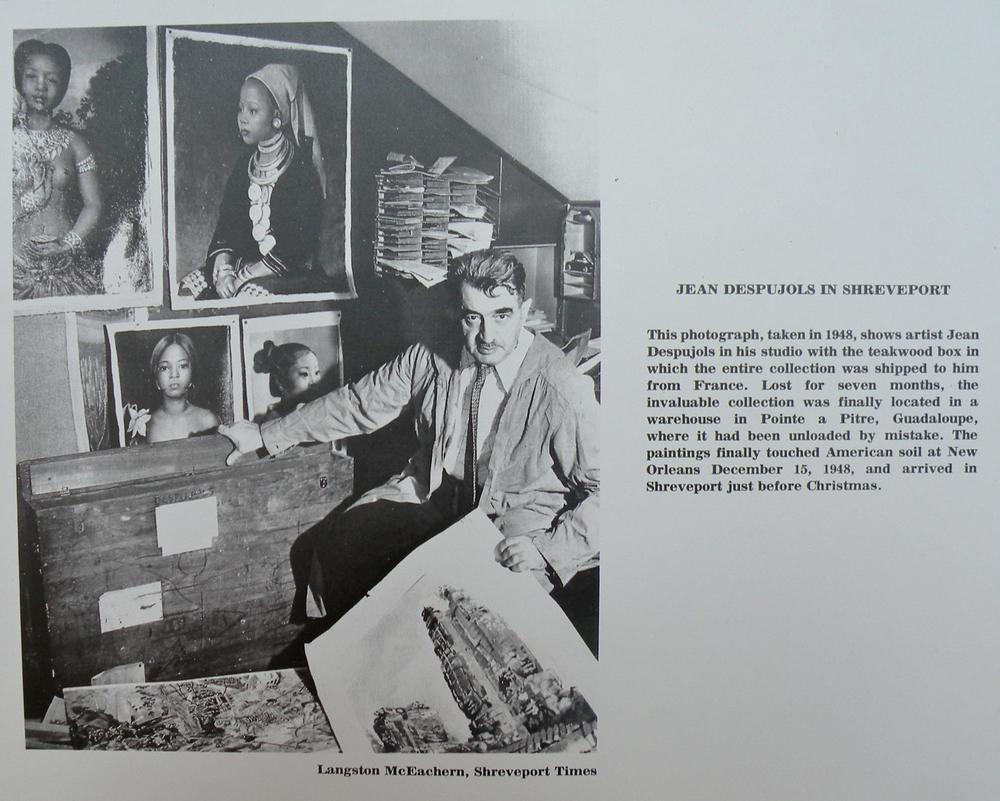 Jean Despujols in Shreveport, LA - Friends of the Algur Meadows Museum of Art at Centenary College in Shreveport, LA