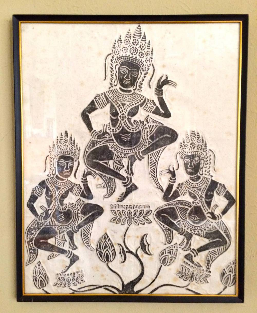 Stone Rubbing from Angkor Wat_Cirque de Shreve_Friends of the Algur Meadows Museum Benefit.jpg