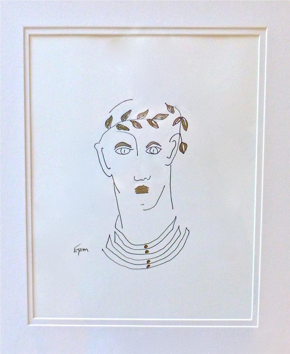 Drawing by Tony Mose_Cirque de Shreve_Friends of the Algur Meadows Museum Benefit.jpg
