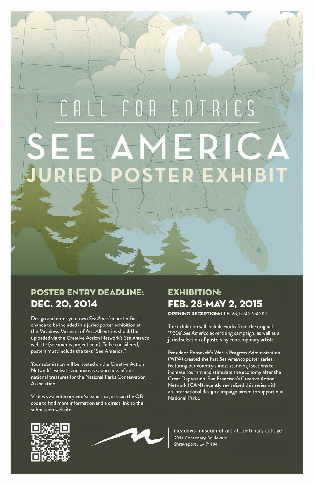 See America at the Meadows Museum of Art at Centenary College