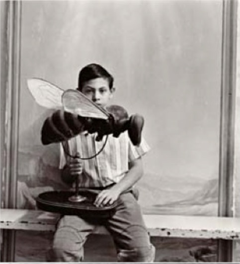 """Keith Carter, """"Boy with Bee""""."""