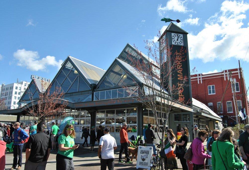 Market Depot, Downtown Bellingham, WA