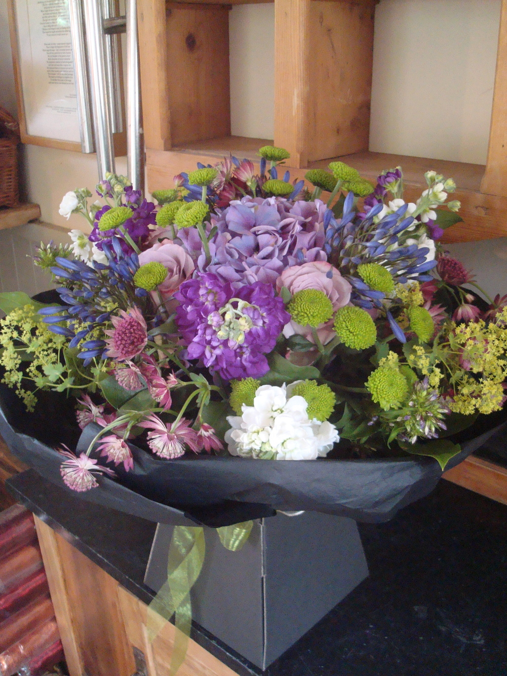 Bouquet in  Black Box.JPG