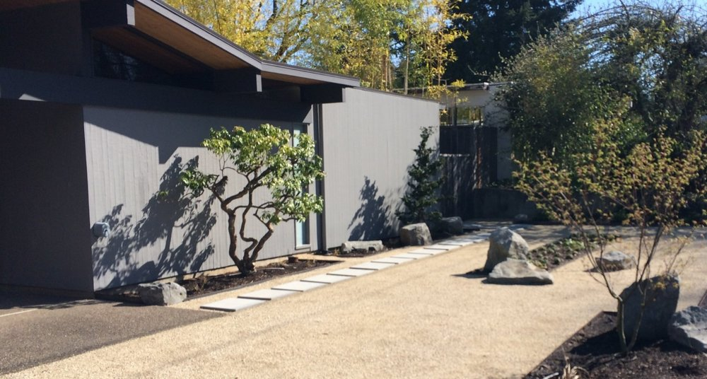 Contemporary Landscape Front Yard: Is Your Landscape Modern? (23 Characteristics Of Modern