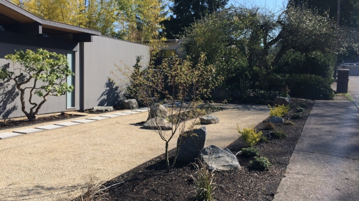 Modern Landscape Design by Ben Bowen of Ross NW Watergardens