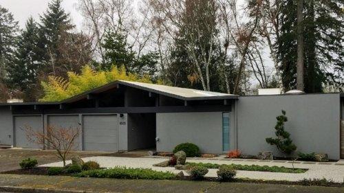 midcentury modern landscaping design - Mid Century Modern Homes Landscaping