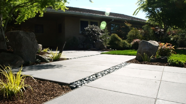 Mid Century Modern Landscape Design For Portlands Atomic Families