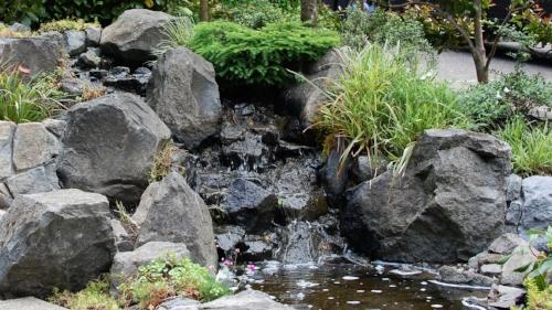 sylvan hills water feature
