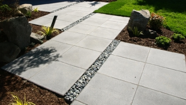 Pavers work with many styles, including modern.
