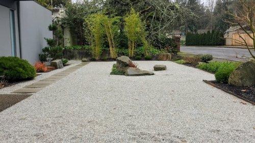 modern landscape design ross nw watergardens - Modern Landscaping
