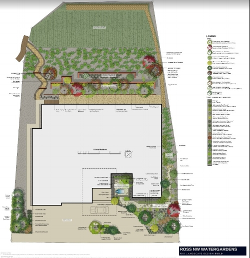landscape design by Ross NW Watergardens