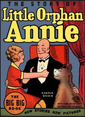 little orphan  annie daddy warbucks baghdad sandy sandy hook.PNG
