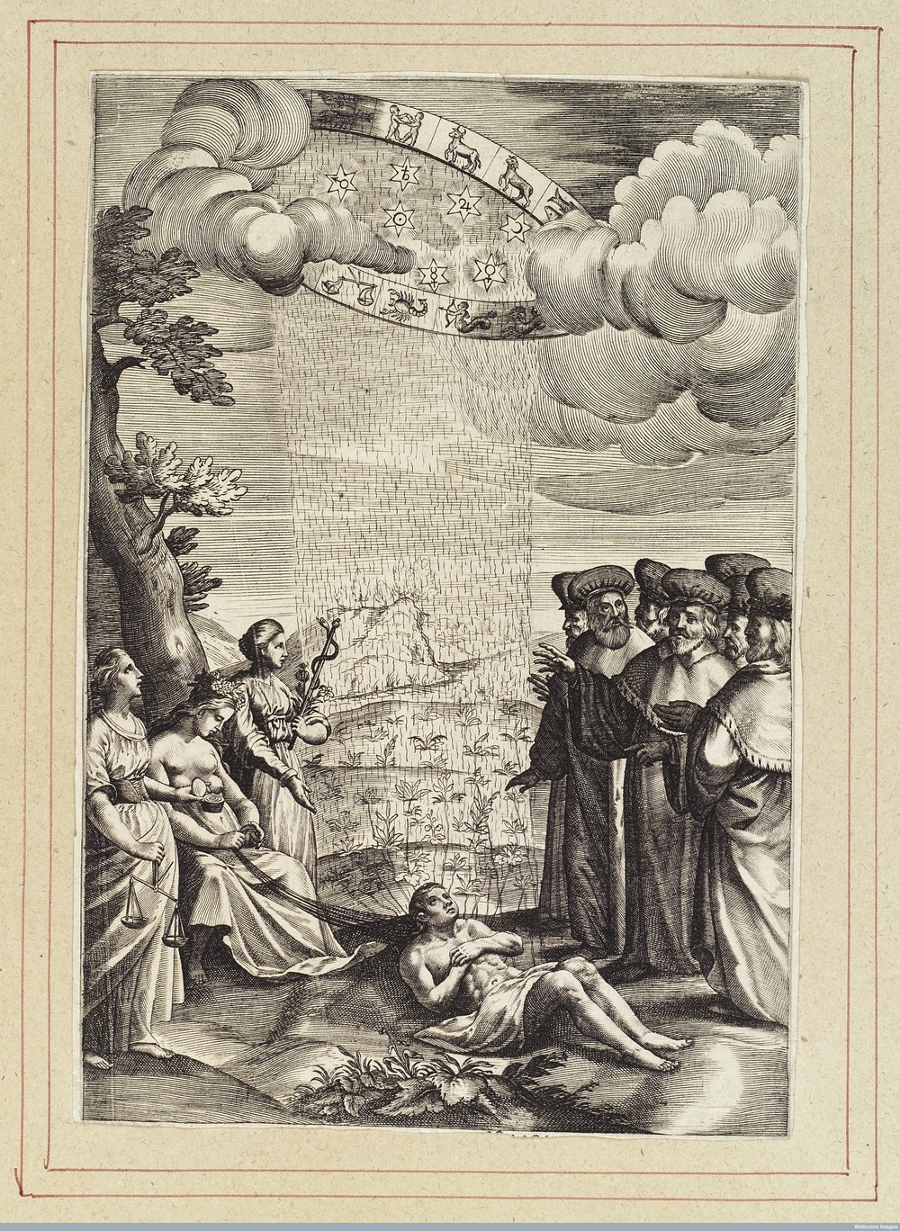 Image: France, likely 17th century, Wellcome Library L0040386.