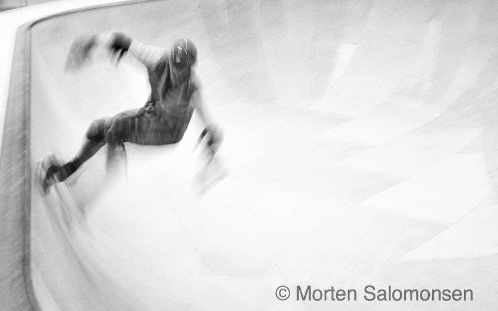 Skateborder @ Oslo Skatehall